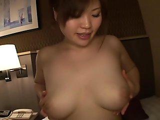Yuka Kojima in Woman Sells Her Natural Huge Breasts 6 part 6