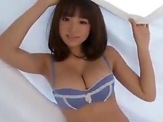 Beautiful japanese girl in bikini
