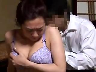 Stacked Oriental wife puts her blowjob and rimjob skills in