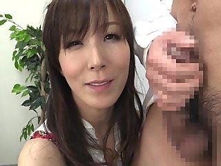 Reiko Sawamura in Reiko Milks Him Dry - MilfsInJapan