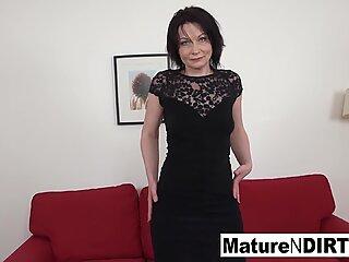 Brunette mature needs a big black cock to fuck her ass
