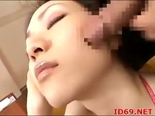 Japanese AV Model has cum dripping out