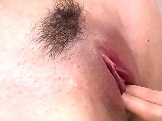 Perverted Asian secretary Ayumi Iwasa gets her pussy fucked