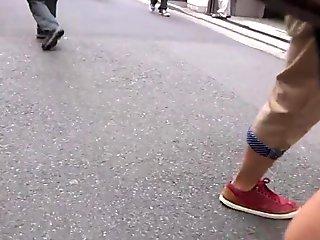Sexy Legs Walk 042