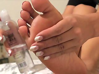 Akiko's Small Oiled and Wrinkled Japanese