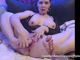 torrid milf feet pounding herself