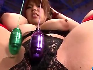 Rough porn session with big tits milf, Natsum