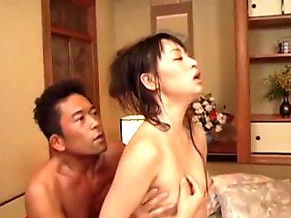 Pretty Japanese Girl Having 3-Way Sex Part 2