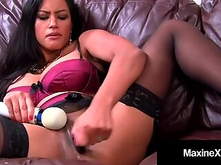 Asian Mommy Maxine-X Ass Fucked By Big Black Cock!