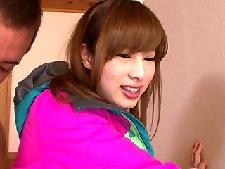 Asumi Hirose in Girl Ski-Bunny Gets Creamed - TeensOfTokyo