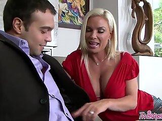 Busty blonde Milf (Diamond Foxxx) is a Maid Id Like To Fuck - Twistys