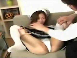 Momo Hoshino - Pretty Japanese Maid