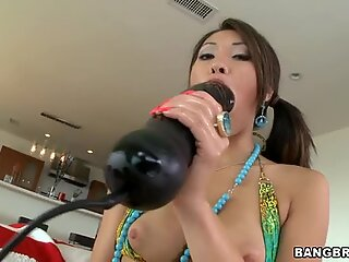 Wanton hotty acquires rough ass fucking from hunk