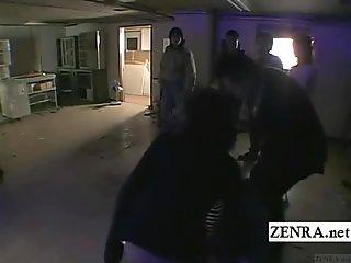 Bizarre bottomless Japanese crime drama with subtitles