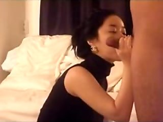 Adorable horny korean babe having sex clip