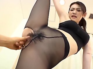 Japanese girl nylon legging hardcore sex