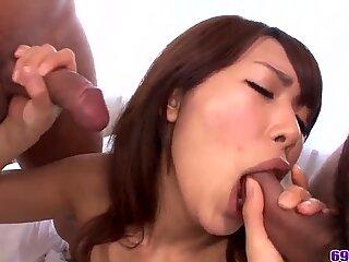 Japanese Satomi Kirihara, full fucking - More at 69avs.com