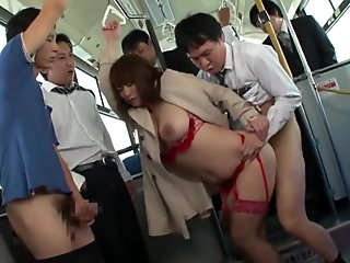 True pornstar gangbanged from japan feature