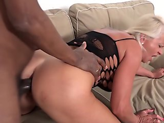 Big titted Japanese whore spreads her ass and pussy