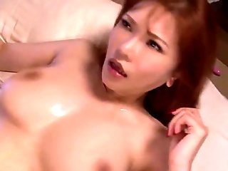 Busty japanese pussy grinded with cock