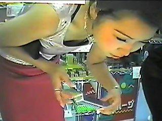 Department Store Panties Exposed By Hidden Camera