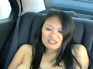 Insatiable Asian bimbo is in playful mood and ready for adventures
