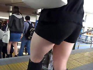 Sexy Legs Walk 016