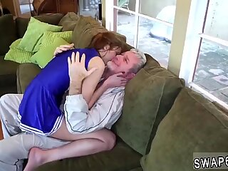 Step mom fucks compeer  playmate s daughter with strap on first time Cheerleaders