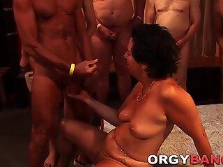 Gangbang mature amateur