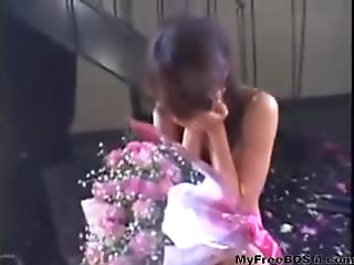 Flowers For A Cute Japanese M bdsm bondage slave femdom domination