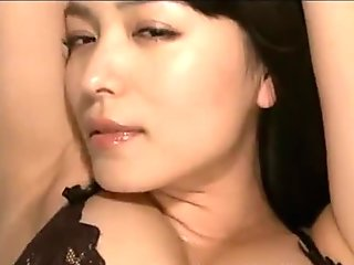 Japanese Model Yumi in her black sexy lingerie humping- LiveCamCherries.com