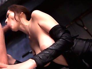 Japanese ninja girl gets fucked