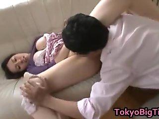 Azusa Nagasawa Hot Asian model has big