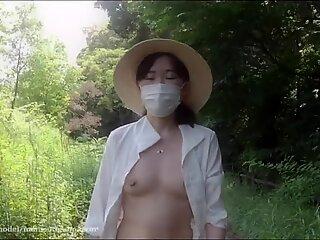 Japanese exhibitionist wife (Blurred ver.) - The Secret    VLOG    Episode 46