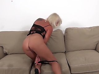 sucking on the dick and the babe gets ass licked