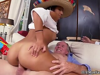 Old fat daddy Going South Of The Border