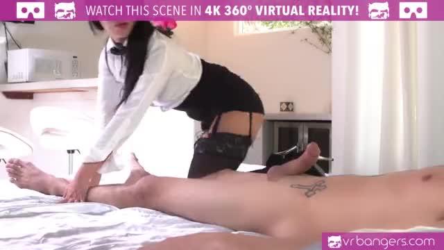 VR Bangers -Room service Japanese girl fuckes