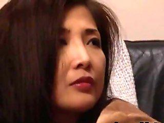 Chisa Kirishima Asian MILF gives amazing part2