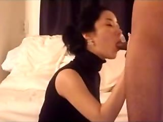 Deep anal sex with hairy korean babe clip