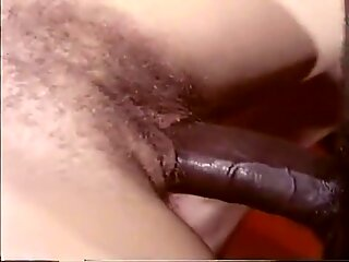 Vintage BBC on tight hairy white pussy