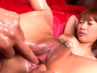 spreading that wet pussy up and the session gets raw